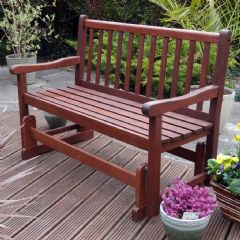 Rondeau Leisure 2 Seater Glider Bench - 121cm Width