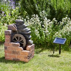 Smart Garden Heywood Mill Water Feature - 50cm Height