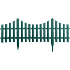Terra Garden Fence Panels Green 60.5 x 33cm - 4 Pack