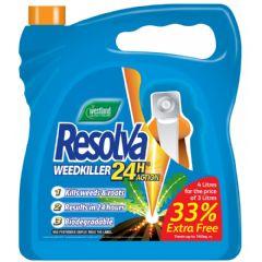 Resolva 24H Weedkiller  RTU - 3L + 1L Extra Free