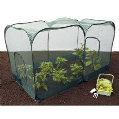 GardenSkill Double Pop Up Crop Cage With Doors - 200x100x135cm