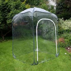 Poly Pop Up Cage With Door - 125x125x135cm