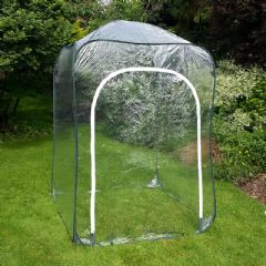 Poly Pop-Up Cage With Door - 125x125x185cm