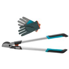 Gardena Classic Pruning Lopper - 680B - With Gloves