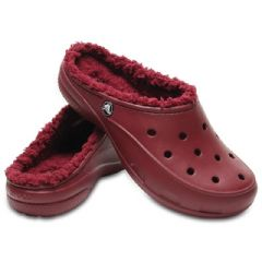 Image of Crocs Freesail Plushlined Clog - Garnet - Size 5