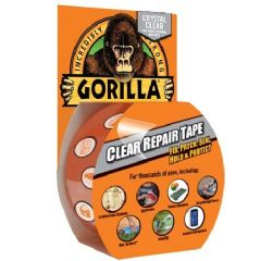 Gorilla Clear Repair Tape - 8.2m