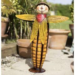 La Hacienda Sweetcorn Scarecrow Garden Ornament
