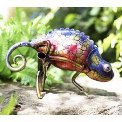 La Hacienda Cool Chameleon Tanzania Garden Ornament