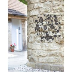 La Hacienda Perching Owls Wall Art