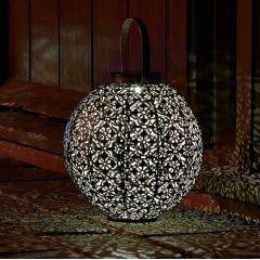 Smart Garden Solar Damasque Lantern