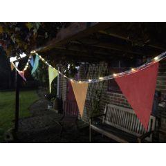 Smart Garden Bunting String Lights