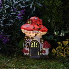 Smart Garden Solar The Elvedon Collection Mush-Room Light