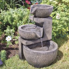 Smart Garden Solar Genoa Cascade Water Feature