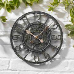 Image of Smart Garden Newby Clock - Verdigris