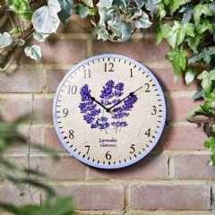 Smart Garden Lavender Wall Clock