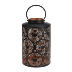 Image of Greenfingers Copper Lantern - 37cm Height