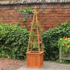 Kingfisher Obelisk Planter