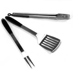 Kingfisher Silicon BBQ Tool Set - Assorted Colours