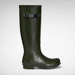 Image of Hunter Norris Womens Field Adjustable Boots - Vintage Green - Size 6