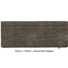 Image of Hug Rug Indoor Runner - Sage Stripe - 65cm x 150cm