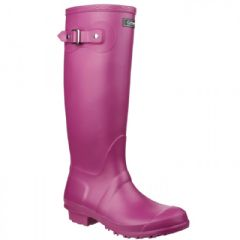 Image of Cotswold Sandringham Wellington Boot - Berry - Size 5