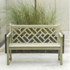 Image of Alexander Rose Chorus 2 Seater Bench