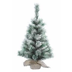 Image of Kaemingk Vancouver Mini Tree - Snowy - 60cm