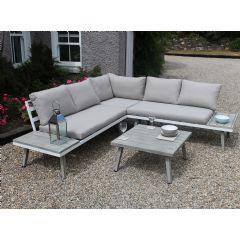 Image of Ellister Bantry Aluminium 5 Seater Lounge Set