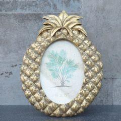 Image of Candlelight Pineapple Photoframe - Gold