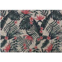 Image of Mighty Mats Dirt Catcher Tropical Bloom Door Mat