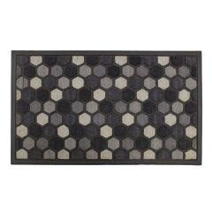 Image of Mighty Mats Scrape n Sorb Hexagon Door Mat