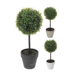 Image of Ellister Artificial Topiary Tree- H41cm