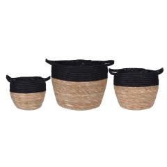 Image of Ellister Nesting Basket Set - 3Pcs