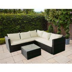 Ellister Odessa Rattan 5 Seater Corner Sofa Collection