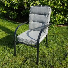 Ellister Siena Stacking Chair - With Cushion