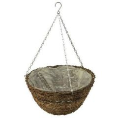 Apollo Willow Hanging Basket 16in
