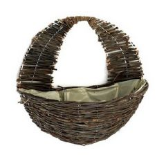 Apollo Willow Wall Basket 16in