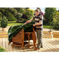Ambassador Rectangular Furniture Set Cover 6-8 Seater - W270 x D180 x H90cm