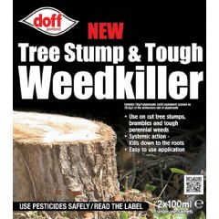 Doff New Tree Stump Tough Weedkiller - 2 Sachets