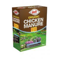 Doff Organic Chicken Manure 3kg