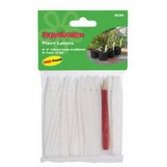 SupaGarden Plant Labels and Pencil 6in