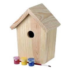 Chapelwood Childrens Paint Your Nest Box - 37cm Height