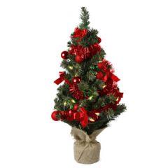 Kaemingk Mini Tree Red - 60cm