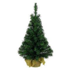 Kaemingk Mini Christmas Tree In a Bag - 45cm