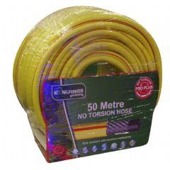 Image of Kingfisher Professional Plus Yellow Garden Hose 50m