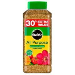 MiracleGro Slow Release Plant Food - 1kg Plus 30% Free