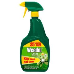 Weedol Lawn Weedkiller Gun - 800ml Plus 25% Free
