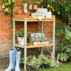 Norfolk Verdi FSC Eucalyptus Potting Table