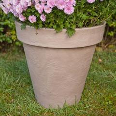 Terra Clay-Look Round Plant Pot - 40cm diameter