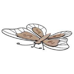 Image of Greenfingers Butterfly Garden Ornament - 44.5cm Width